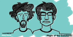 Flight of the Conchords by Sidus-U