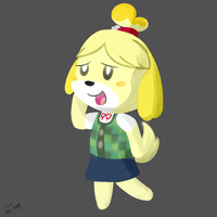 isabelle by YellowTDash