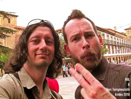 Ben Templesmith at Aviles 2010 by rbl3d