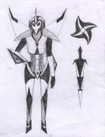 Official Black Frequency Design +Weapons by Redrosesforever