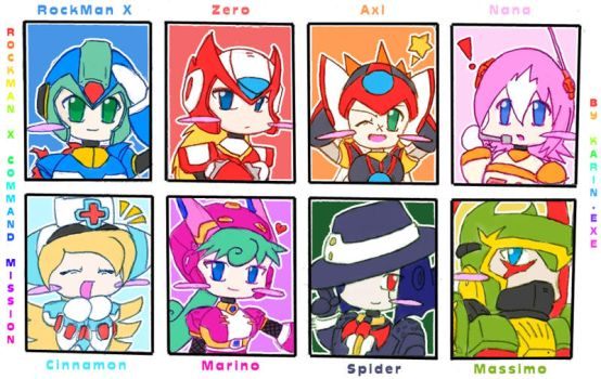 RockMan X Command Mission by KarinEXE