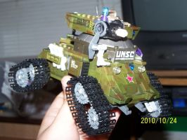 UNSC Bonaparte Raccoon Tank 09 by coonk9