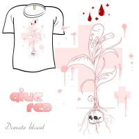 Woot Shirt - Give Red by fablefire