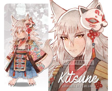 Adoptable - Kitsune [CLOSED] by Pearlgraygallery