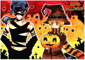 HAPPY HALLOWEEN by tonbo-kun
