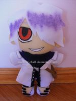 Pandora Hearts: Xerxes Break plushie by VioletLunchell