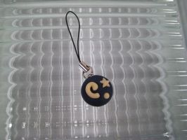 Animal Crossing Fossil Charm by Whitness