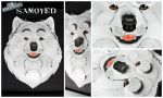 3D - Portraits: Samoyed by SaQe