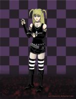 Death Note Misa: Cute + Deadly by Necrohamster