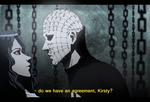 If Hellraiser were an anime... by Art-Gem