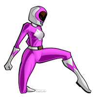 Pink Power Ranger by zAidoT
