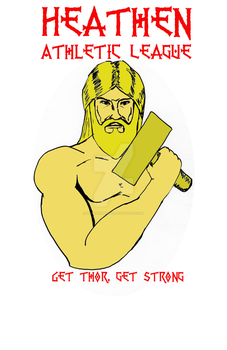 Thor Strong by heathenbard
