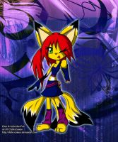 Cheremia - Keaton fox by Anira-the-Fox