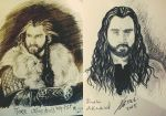 Thorin in 2013 and 2015 by Miruna-Lavinia