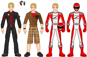 OO Revamp: Red Ranger by TerenceTheTerrible