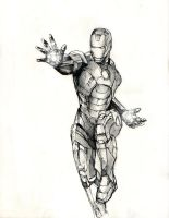Iron Man by JusDrewIt