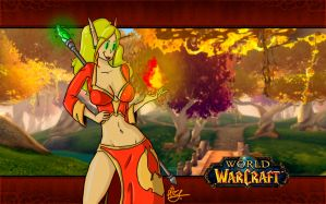 wow: blood elf girl by PiTY91