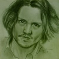 Johnny Depp by perilousrealms