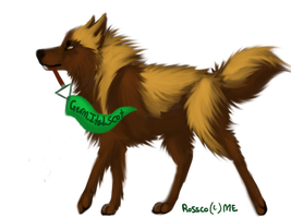 Free German,Italia,Scottish banner holding wolf by FallenCanis