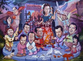 The Enchanted Mental Hospital by davidmacdowell