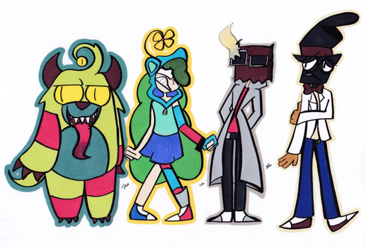Villainous Character Swaps! (AU) by HarmonyParty