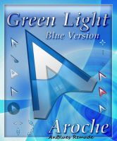 Green Light (Blue Version) by AnBlues