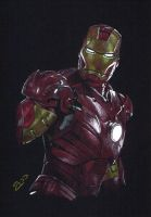 Iron Man by J-Redd