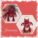 Tiny January Dragon by Amaze-ingHats