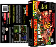 Donkey Kong Country Black Box Style by vladictivo