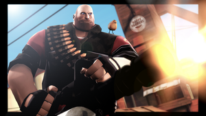 Heavy Weapons Guy by WitchyGmod
