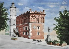 Sandomierz by Marcysiabush