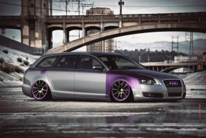 Stanced A6 Avant by alemaoVT