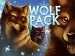 Wolf Pack by VixieArts