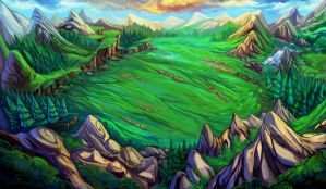 Forest and Hills by Tyvik