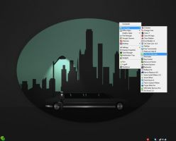 Emerge Desktop v6.1.3 With Transparent Tray by KeybrdCowboy