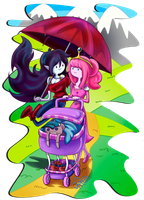 Bubbline - family outing by kei111