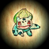 Bulbasaur Sketch by jesseuhhyeah