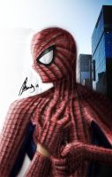Spiderman - ready to work by Ay4nami-R3i