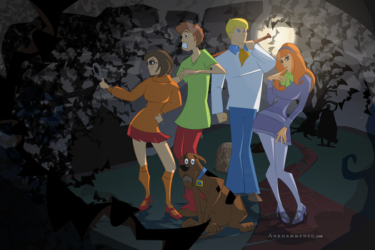 Scooby Doo, where are you? by jwebsterart