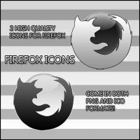 Firefox Icons by Luk3V