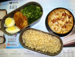 Using pie dough bento by Vetriz