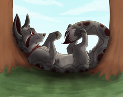 Relaxing by MidnightAlleyCat