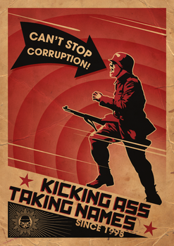 Can't Stop Corruption by AbangZam