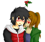 Secret Santa: Surprise Kiss by HaruYuzuki