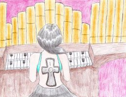 Contest entry: The Organ Player by MissRiku