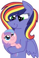 AU Baby Sister by kindheart525