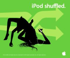 iPod shuffled. by RedFrost