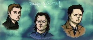 Supernatural Headshots by LaLunatique