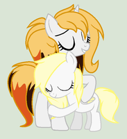 Rosemary and her mom by Paige-the-unicorn