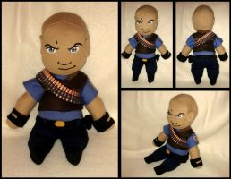 Heavy Weapons Guy Plush --TF2 by Threnodi